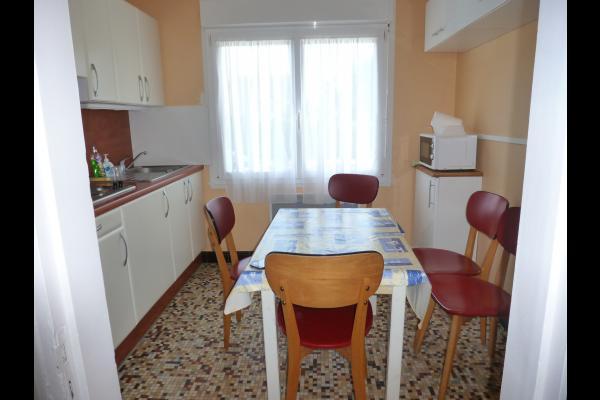 cuisine équipée avec lave vaisselle - Location de vacances - Wissant