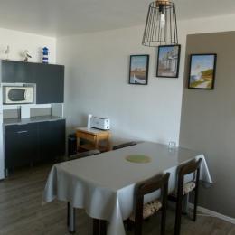 Coin cuisine - Location de vacances - Wimereux