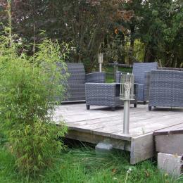 Terrasse - Location de vacances - La Madelaine-sous-Montreuil