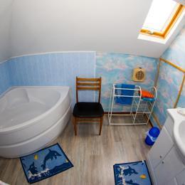 salle de bain bateau - Chambre d'hôtes - Guînes