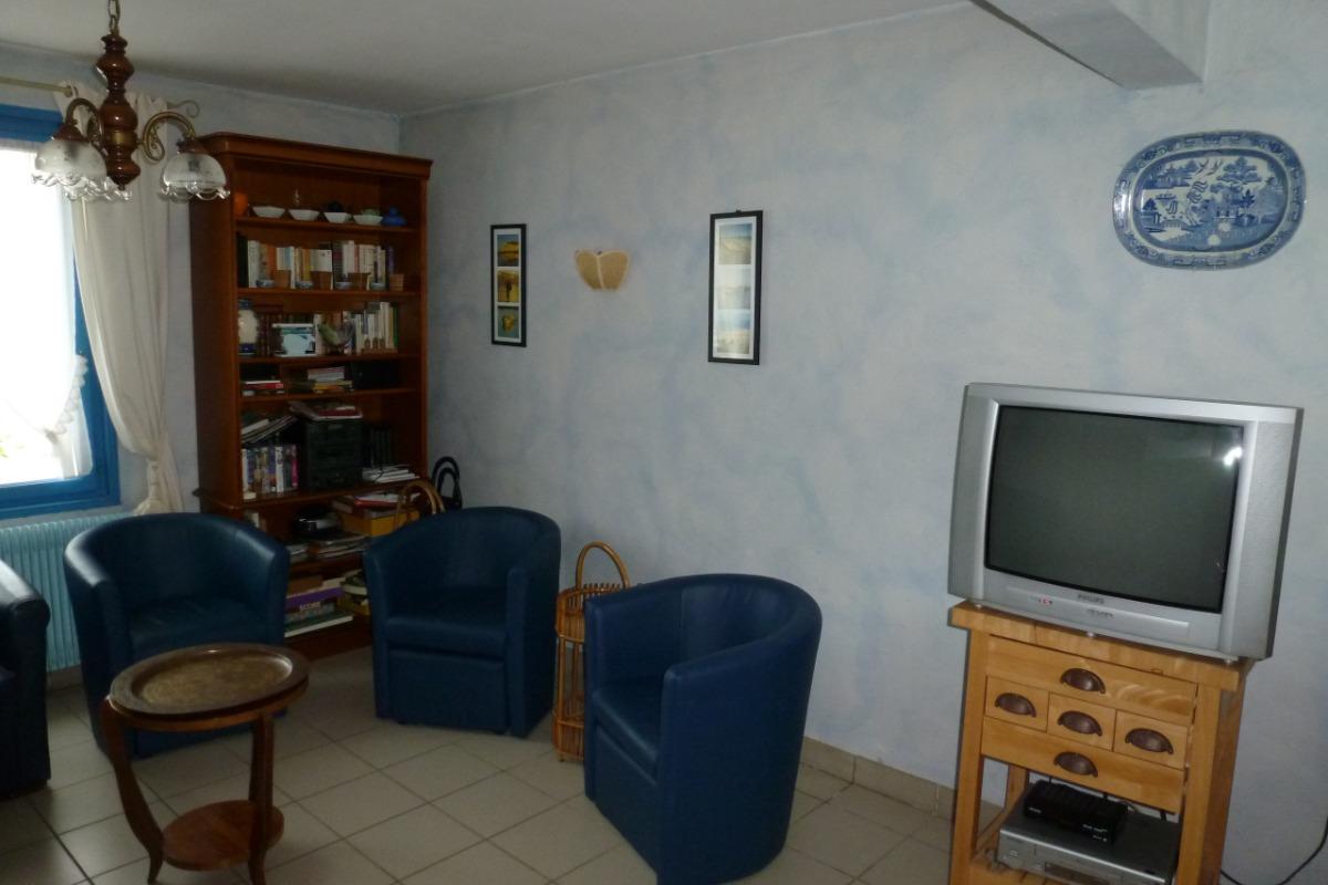 Salon - Location de vacances - Wissant