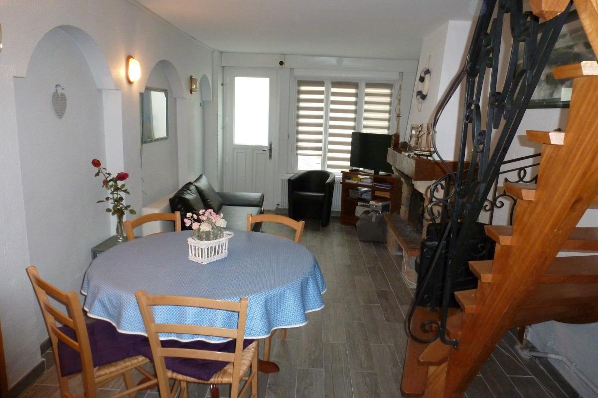 Séjour - Salon - Location de vacances - Etaples Sur Mer