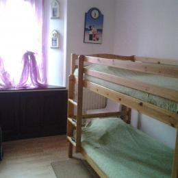 Petite chambre avec lit superposé - Location de vacances - Berck Sur Mer