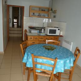 Séjour - Coin cuisine - Location de vacances - Berck Sur Mer