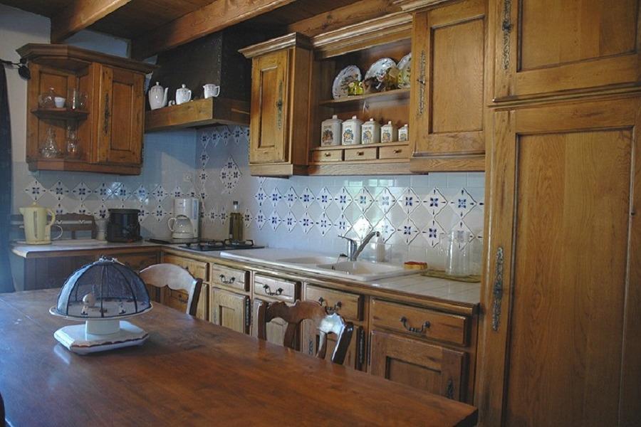 La cuisine - Location de vacances - Audrehem