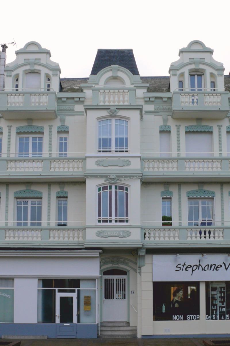 façade immeuble - Location de vacances - Berck Sur Mer
