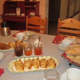 petits dejeuners - Chambre d'hôtes - Billy-Berclau