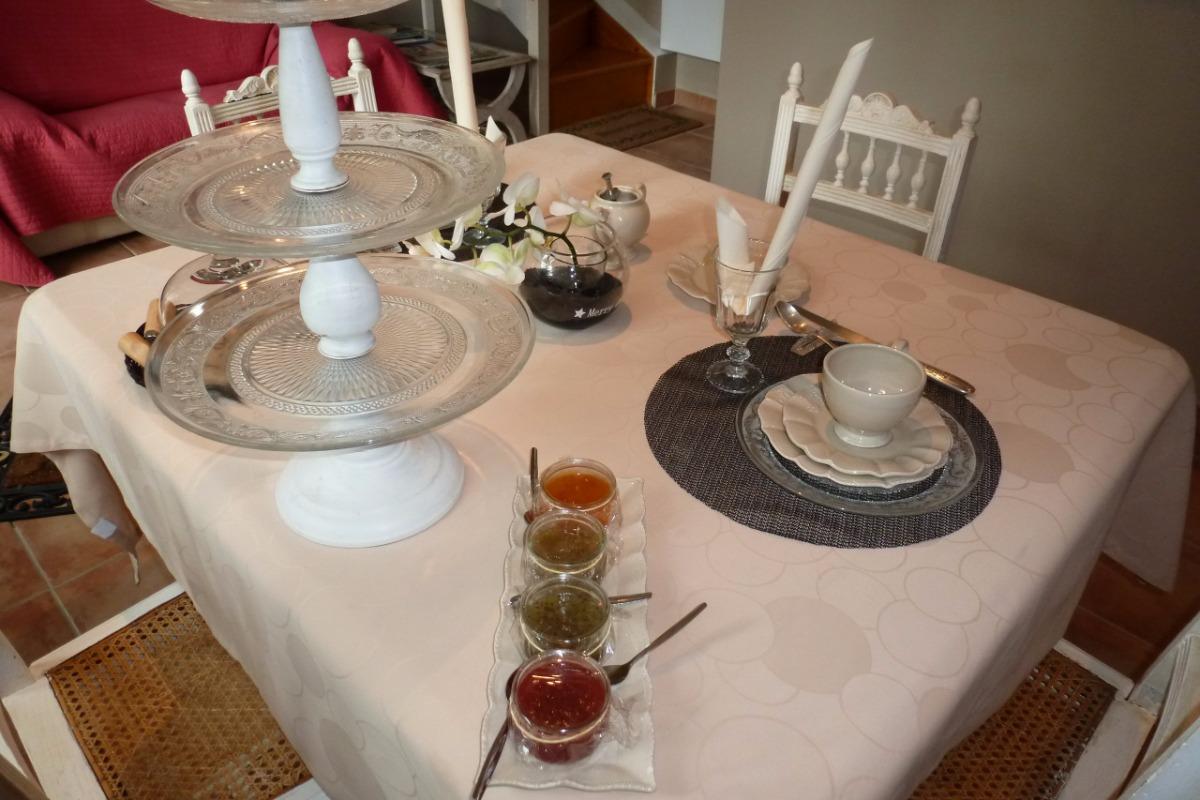 Le Petit-déjeuner - Chambre d'hôtes - Manin