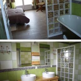 Chambre Rêveur et sa salle de bains - Location de vacances - Clenleu