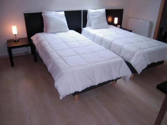 Aussi possible, 2 simple lits 90 x 210cm - Chambre d'hôtes - Rang-du-Fliers
