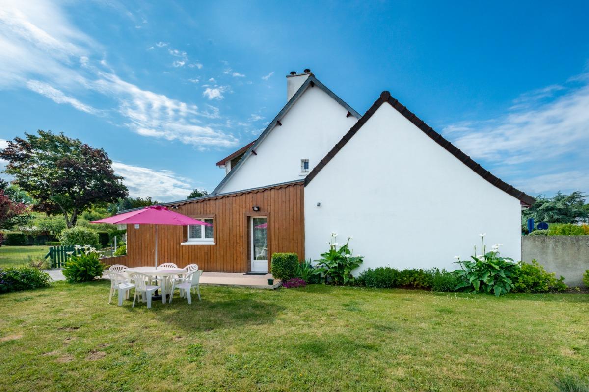 entrée avec emplacement privé - Location de vacances - Camiers