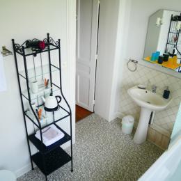 chambre la Sycomore - la salle de bain  - Chambre d'hôtes - Berck Sur Mer