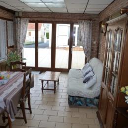 Séjour et salon - Location de vacances - Merlimont