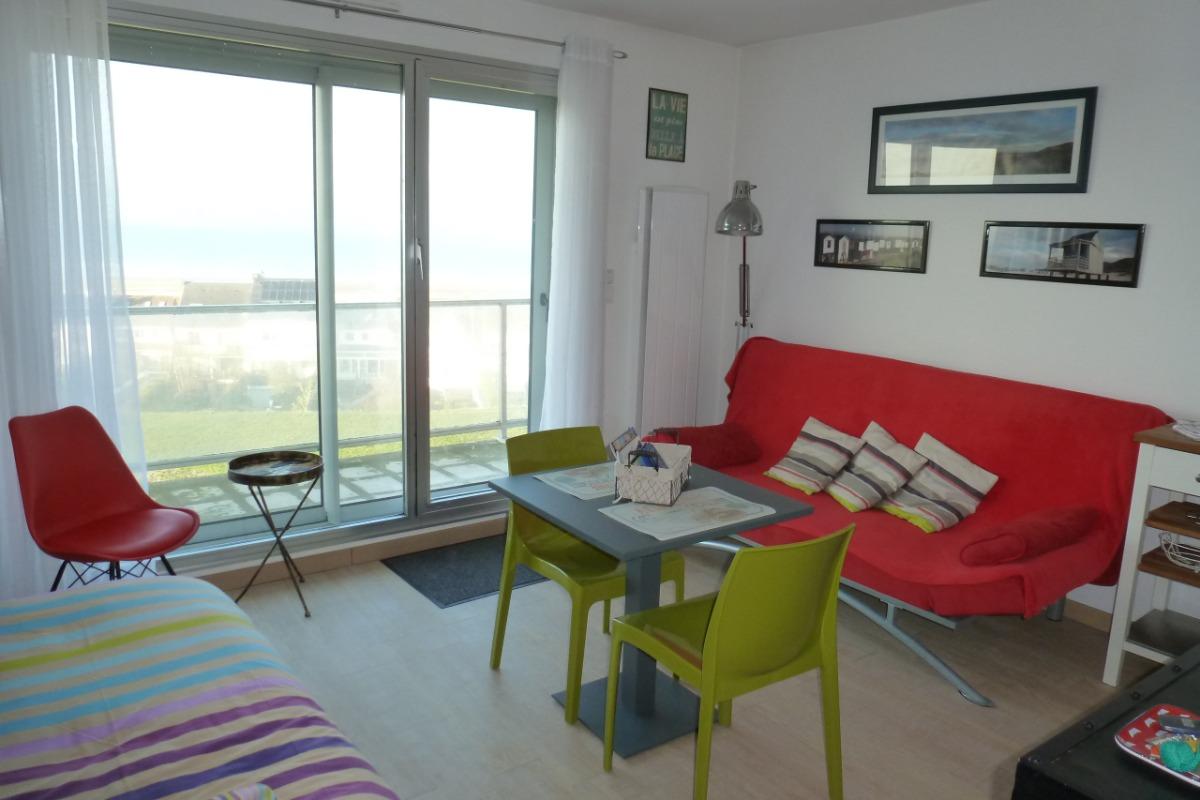 Accès au balcon - Location de vacances - Calais