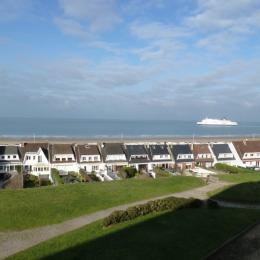 Vue du balcon - Location de vacances - Calais