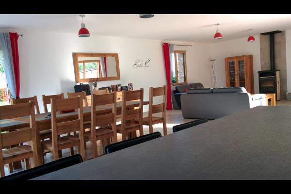 coin repas - Location de vacances - Campagne-lès-Hesdin