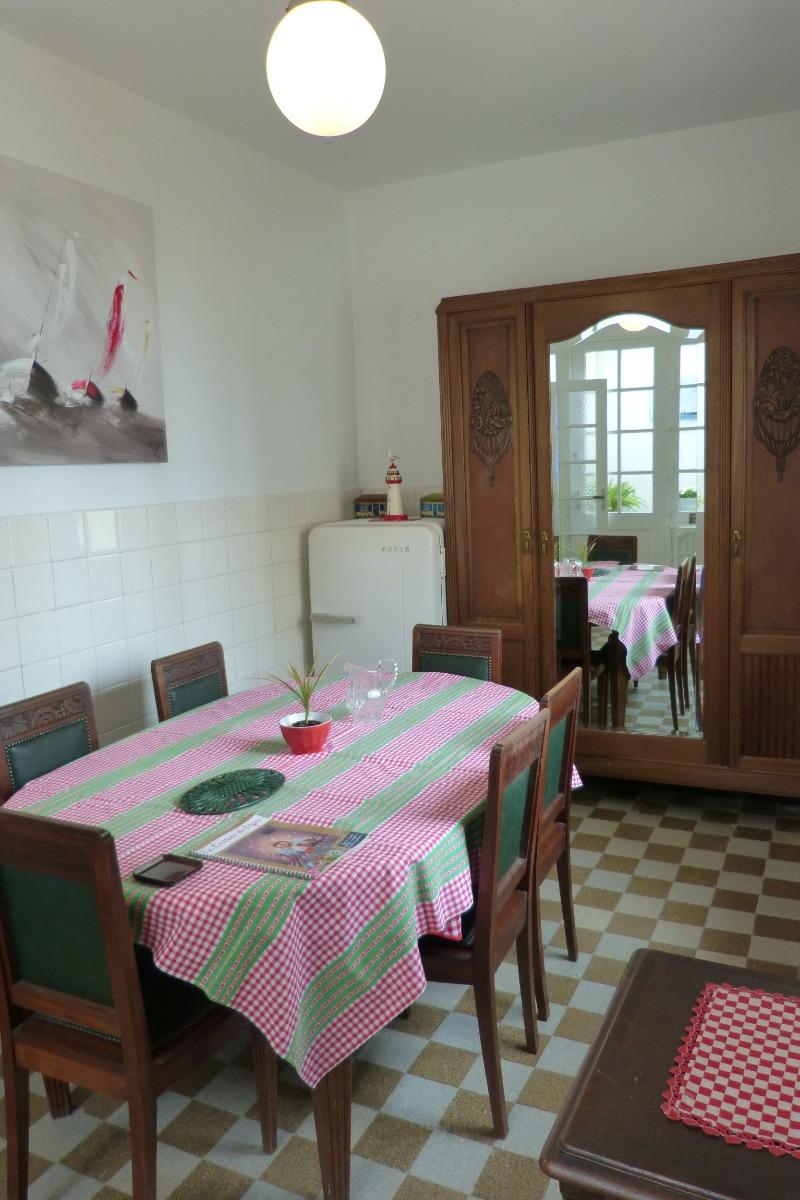 salle à manger - Location de vacances - Wissant
