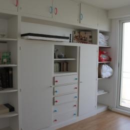 Chambre 2 : 2 lits avec balcon - Location de vacances - Wimereux