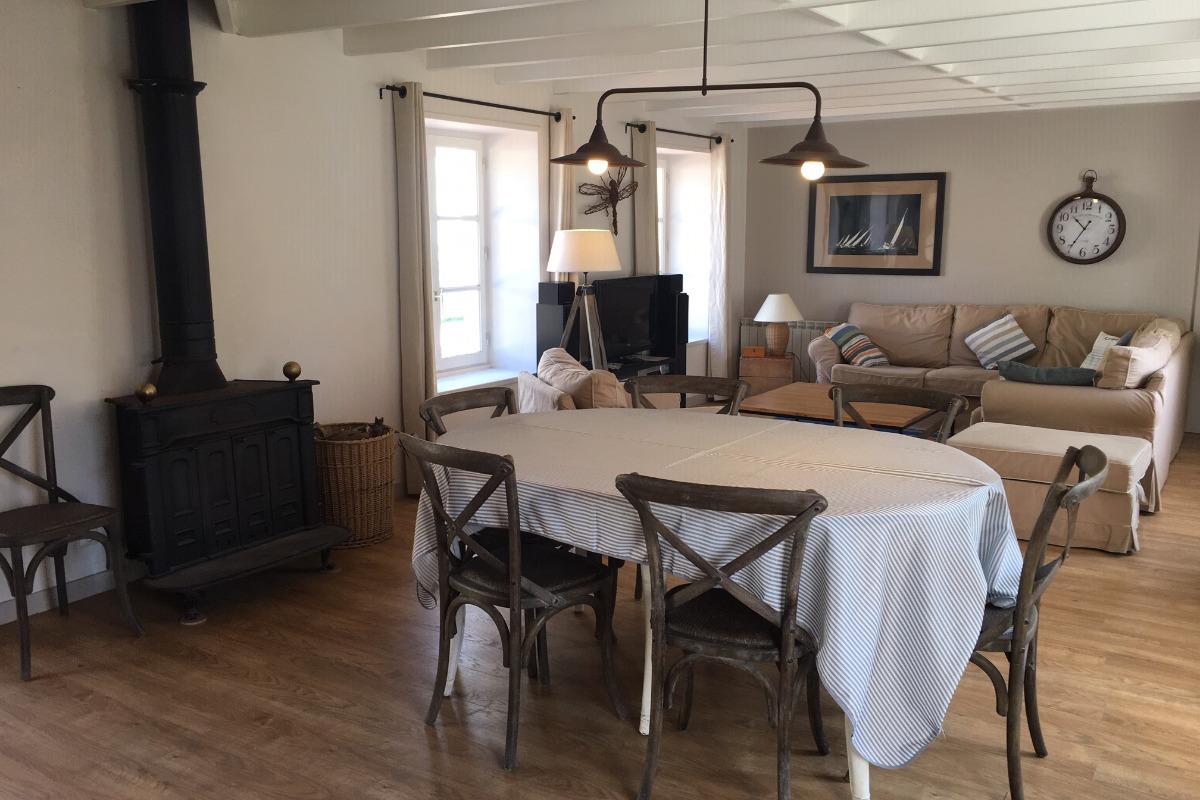 Salle à manger et cuisine - Location de vacances - Wissant