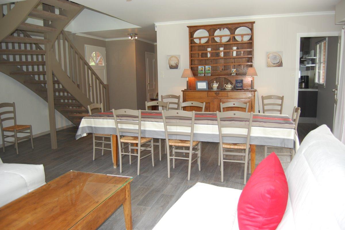 Salle à manger - Location de vacances - Le Touquet-Paris-Plage