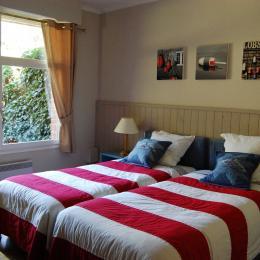 Chambre du bas 2 pers Salle de douche WC séparé - Location de vacances - Le Touquet-Paris-Plage