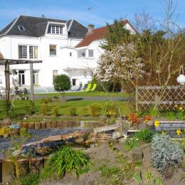 la maison vue de derrière - Chambre d'hôte - Huby-Saint-Leu