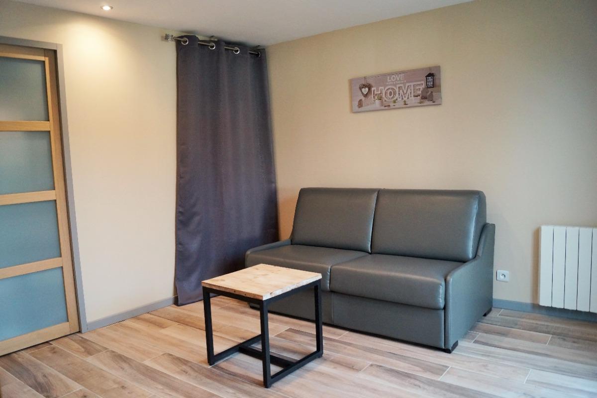 coin salon - Chambre d'hôtes - Saint-Hilaire-Cottes