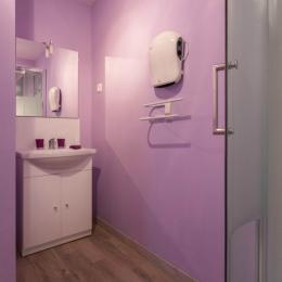 Salle de douche - Chambre d'hôtes - Liettres