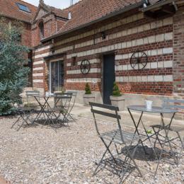 La terrasse - Chambre d'hôtes - Liettres