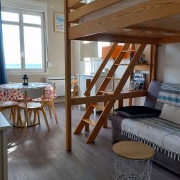 canapé-lit - Location de vacances - Wimereux
