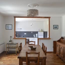 salle à manger - Location de vacances - Groffliers