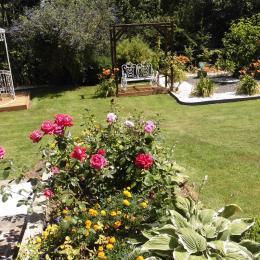 Jardin - Location de vacances - Groffliers