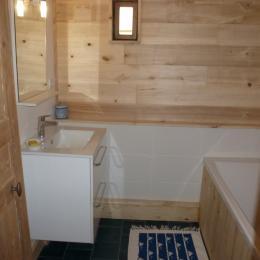 Salle de bain (chambre Aubépine) - Chambre d'hôtes - Bezinghem