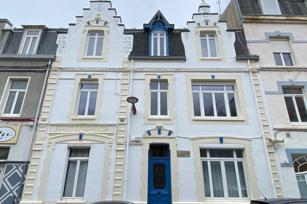 Appartement au rez-de-chaussée de la Villa Passiflora - Location de vacances - Wimereux