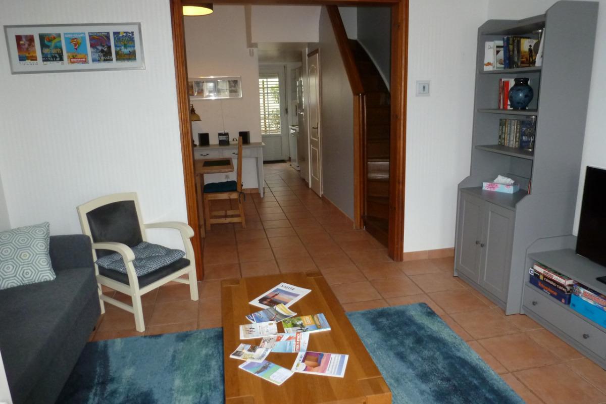 Salon (ouvrant vers le séjour) - Location de vacances - Berck Sur Mer