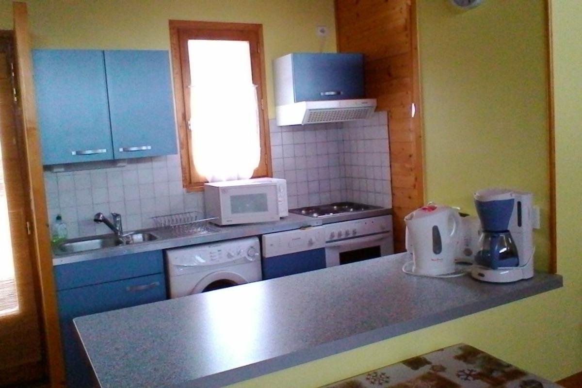 Cuisine  - Location d'une maison dans le massif du Sancy Parc des Volcans d'Auvergne - Location de vacances - Besse-et-Saint-Anastaise