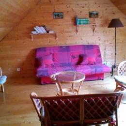 Coin détente - Location d'une maison dans le massif du Sancy Parc des Volcans d'Auvergne - Location de vacances - Besse-et-Saint-Anastaise