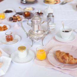 Petit déjeuner gourmand - Chambre d'hôtes - Lezoux