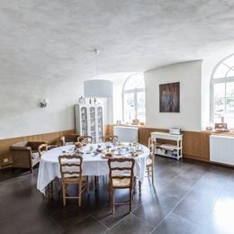Salle à manger en rez de jardin - Chambre d'hôtes - Lezoux