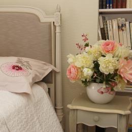 chambre avec lit 140 x 190 - Location de vacances - Charbonnières-les-Vieilles