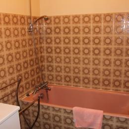 Salle de bain - Location de vacances - Besse-et-Saint-Anastaise
