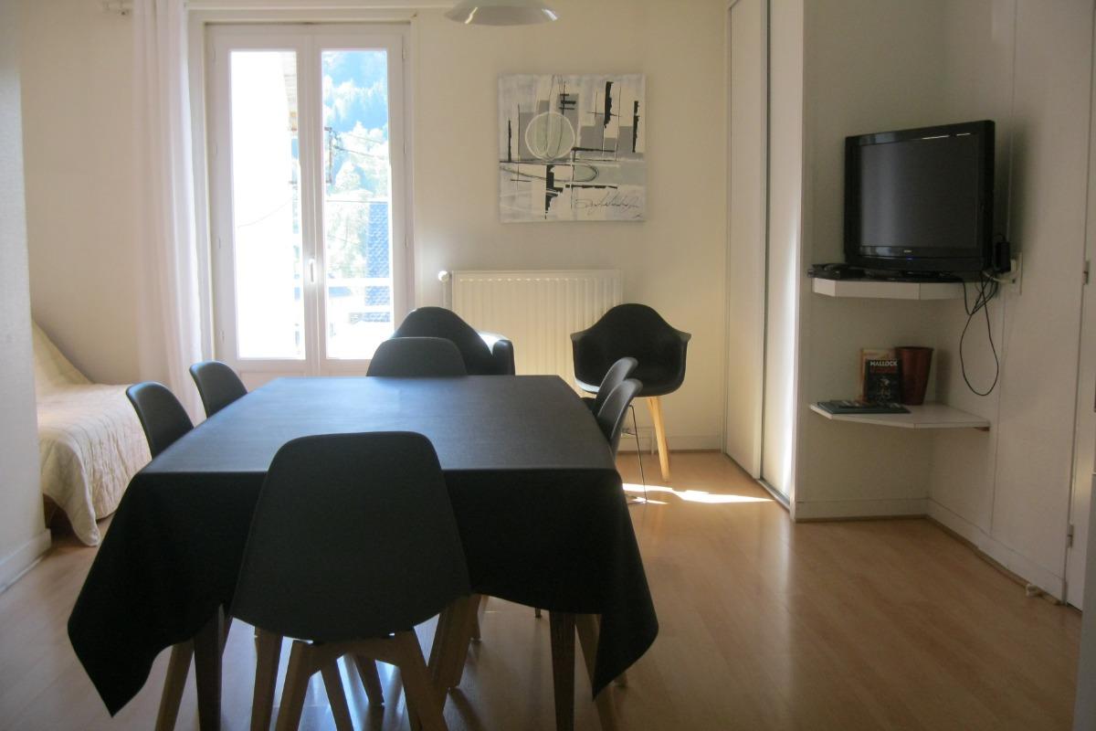 Côté salon - Location de vacances - Mont-Dore
