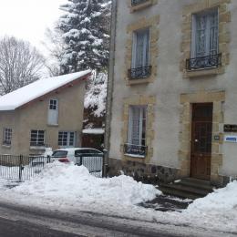 L'hiver au Bois Joli - Location de vacances - La Bourboule