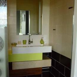 les sanitaires privés - Chambre d'hôtes - Mirefleurs