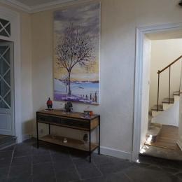 l'escalier... - Chambre d'hôtes - Mirefleurs