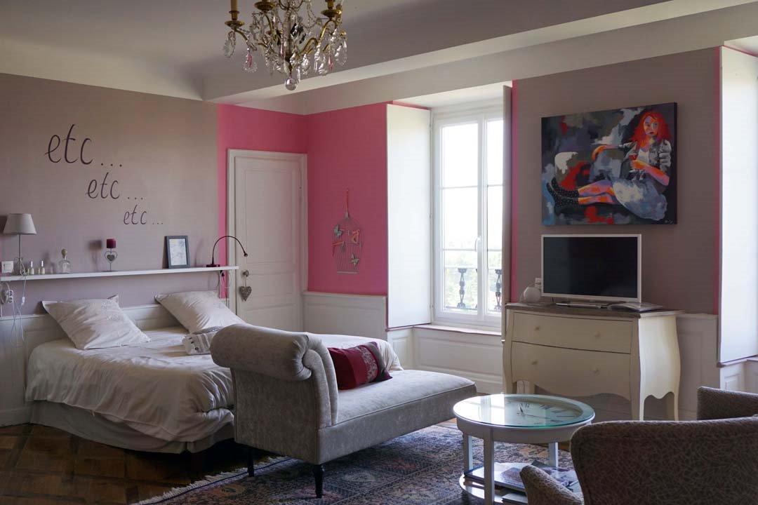 la chambre et caetera - Chambre d'hôtes - Mirefleurs