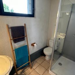 salon - Appartement avec vue exceptionnelle sur le Massif du Sancy depuis le jardin - Location de vacances - Saint-Pierre-Colamine