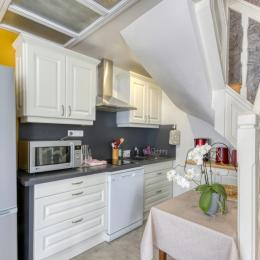 La salle à manger - Location de vacances - Volvic
