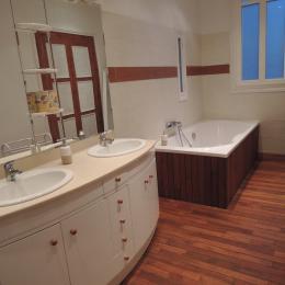 La salle de bains - Chambre d'hôtes - Clermont-Ferrand