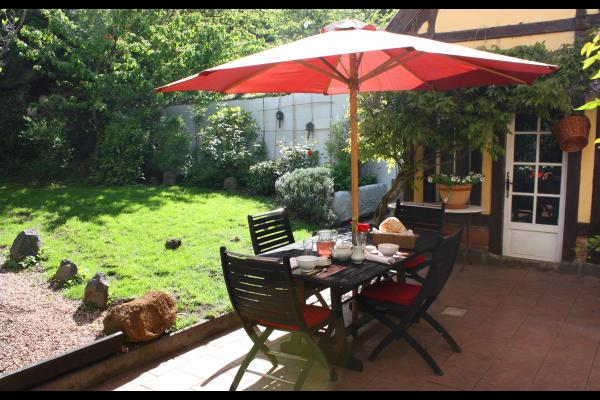 La terrasse - Chambre d'hôtes - Royat